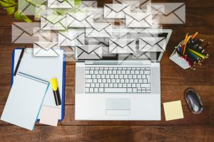 Manage emails at work