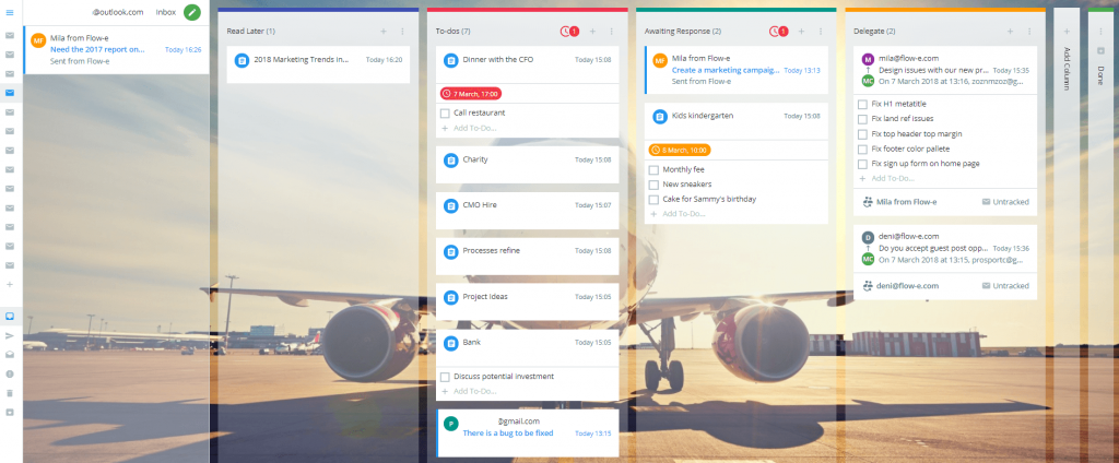 How to Use Personal Kanban Tool with Inbox Zero​