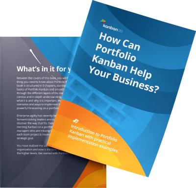 Portfolio Kanban Book by Kanbanize