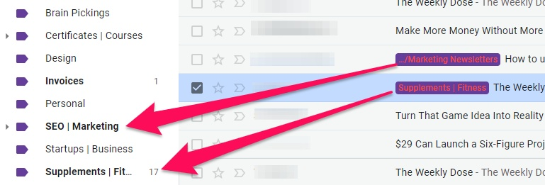 Organize Gmail Labels for Email Oragnization